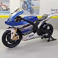Modellauto IXO 1:24 Fertigmodell YAMAHA YZR 500 GO!!!!!!! No.56 2001