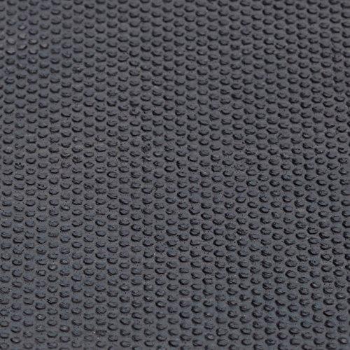 Relaxdays Fußmatte Anker Kokos, HxBxT: 1,5 x 60 x 40 cm, rutschfest, rechteckig, für Haustür, Kokosfasern, Gummi, natur - 5