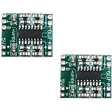 ERH INDIA PAM8403 Super Mini Digital Amplifier Board 2 * 3W Class D Digital 2.5V to 5V Power Amplifier Board Efficient…