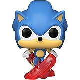 Funko- Pop Games 30th-Running Sonic Figura coleccionable, Multicolor (51964)