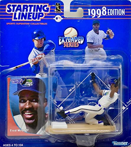 1998 Edition - - Kenner - - Starting Lineup - Extended Series - FRouge  McGriff #27 - Tampa Bay Devil Rays - Vintage Action Figure - w/ Trading Card - Limited Edition - Collectible by Starting Line Up 74c930