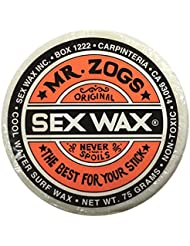 Mr Zogs Original Mr. Zogs Original Sexwax - Cool Water Temperature Coconut Scented White - Coconut Scented by Sex Wax