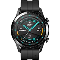 Huawei Watch GT 2 Connected Watch (GPS, 46mm case) with Black Sport Band