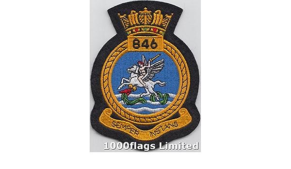 846 Naval Air Squadron Royal Navy Pin Badge