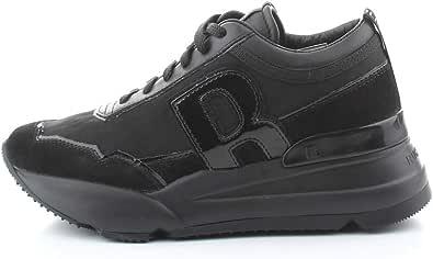 Ruco Line Sneaker Donna Tessuto Nero