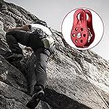 Kletterndes örtlich festgelegtes Bergsteigen-Seil-Klettern-Flaschenzug-Geräte des Klettern-20KN