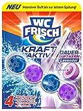 WC Frisch Kraft-Aktiv Duftspüler Lavendel Paket, 10er Pack (10 x 50 g)