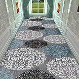 AOLI Tapis de chemin de roulement pour machine à plancher durable pour protection de surface douce, tapis de moquette, tapis de couloir - Taille personnalisée,0,9 * 1m