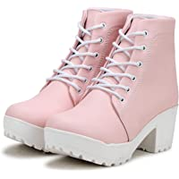 ETHICS Women's Leather Ankle Boots for Women's