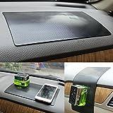 Alfombrilla antideslizante del coche,HICYCT Antideslizante Mat Dashboard Coche Cojín Pegajoso Holder para el Teléfono y GPS-lavable (Box)