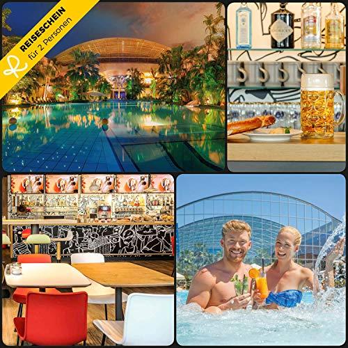 Reiseschein - 2 Tage für 2 im 3* Hotel ibis München Messe & 2 Tageskarten für die Therme Erding - Hotelgutschein Gutschein Kurzreise Kurzurlaub Reise Geschenk