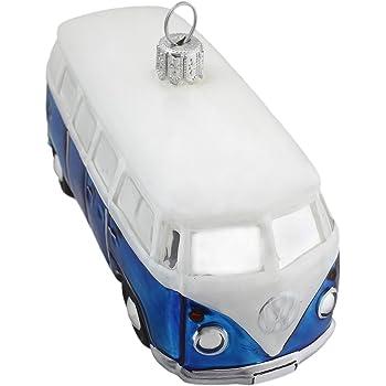 Hamburger Weihnachtskontor Christbaumschmuck Vw Bus Blau