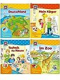 WAS IST WAS Junior Neu Paket 2 (9 Bände) - Serienpreis!: Komplettabnahme Bd. Ritterburg, Körper, Wald, Meer, Deutschland, Technik zu Hause, Dinosaurier, Hafen, Im Zoo (WAS IST WAS Junior Sachbuch)