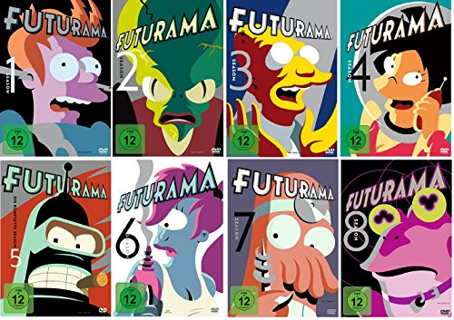 Futurama - Season/Staffel 1+2+3+4+5+6+7+8 (1-8) * DVD Set