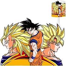 Lámpara de noche–Goku (3)–Lámpara de mesa de creación niños–personalizable con nombre