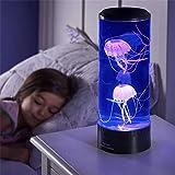 SOYYD Mini Lampe D'humeur De Méduse, Lampe De Méduse Fantaisie De LED, Lampe Ronde De Méduse De Bureau, Pour Décoration USB C