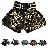Image de Classic Muay Thai Kick Boxeo Tailandes Pantalones : Spirit Dragon