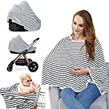 Baby Nursing Cover - Multi Use Breastfeeding Cover For Baby Carseat