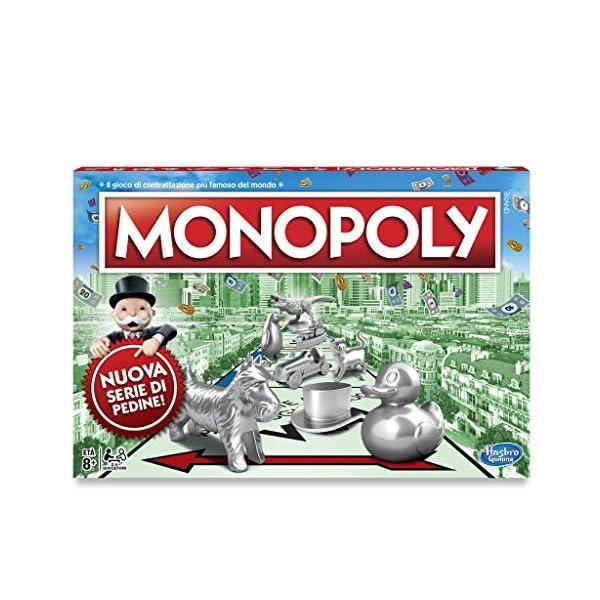 Monopoly - Classico (gioco in scatola Hasbro Gaming) 2 spesavip