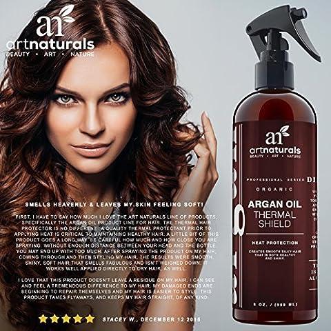Art Naturals Protecteur Thermique pour Cheveux, 226ml - Spray Protecteur