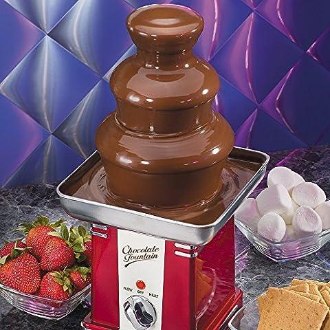Anself Fontaine à Chocolat Machine Chocolat pour Mariage Fête