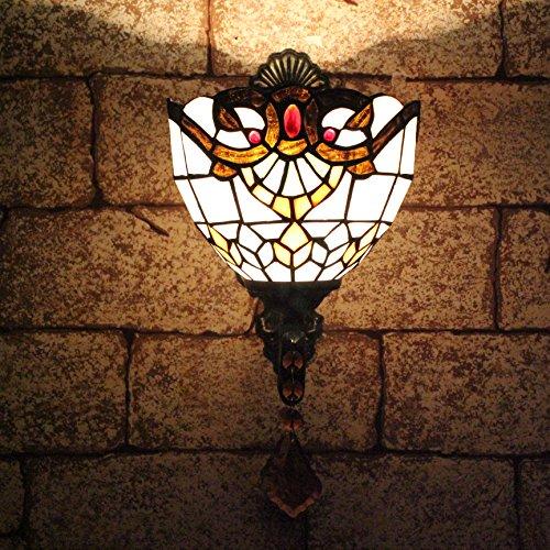 TOYM 8 pouces rétro Continental bar lampe murale créative baroque Tiffany chevet de chambre