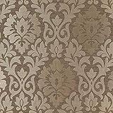 Fabulous Fabrics Möbelstoff Jaquard Coba – braun —