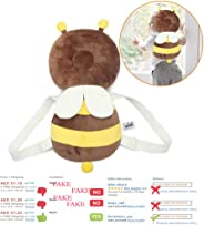 Baby Head Protector Toddlers Infant Shoulder Back Protective Safety Pads Cushion Pillow with Adjustable Strap for Babies Wal