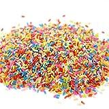 HOT SALE! DIY Slime Craft Decorative, GreatestPAK Colorful Styrofoam Sugar Sprinkles Assorted Pattern Slime Arts Crafts Supplies, DIY Wedding & Party Decoration (A)