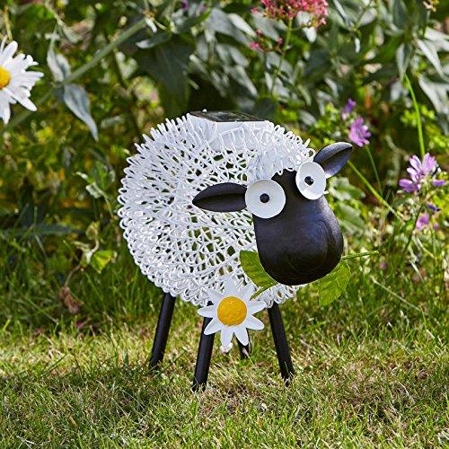 Solar-Silhouette Schaf Dolly, ca. 22x26x15 cm
