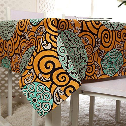 im mediterranen Stil Papst Cloud Baumwolle Tischdecke Tischdecke Tischdecke manteles para Mesa 140 x 180 cm ()