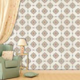 #10: Brick Wallpapers for Wall | Best for Living Room and Home Décor | Size: (Small Roll / 26.7 SqFt) | High Quality Stone Brick Wall Effect Pre Gummed Wallpaper (Self Adhesive) by Paper Plane Design (PPD)