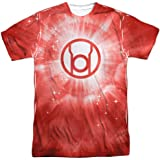 Stab & wound Energy -- Red Lantern All-Over Front/Back Print Sports Fabric T-Shirt