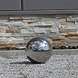 Sfera in acciaio inox con un Diametro di 20cm lucidato decorazione per Giardino Balcone Terrazza sfera lucida anche per stagno laghetto cava uso sfera galleggiante