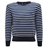 Fred Perry 1883T Maglione Bimbo Cotone blu/Bianco/Bluette Sweater Kid [12 Years]