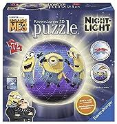 Dai luce al tuo puzzle 3D. Il puzzle 3D diventa una speciale lampada notturna grazie ad una base luminosa che si attiva tramite l'interruttore e al battere delle mani. Attenzione: il Puzzle 3D nasce come sfera. Per ottenere la Lampada Notturn...