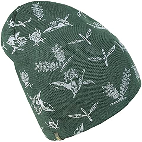 Brekka Botanic Beanie Gorro Talla Única, Diseño de Insectos