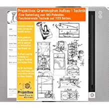 Grammophon Aufbau & Technik: Deine Projektbox inkl. 180 Original-Patenten bringt Dich mit Spaß hinter die Geheimnisse der Technik!