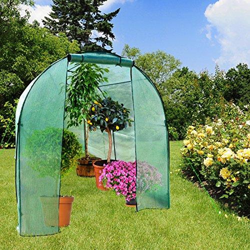 casa-pura-gewaechshaus-libre-grosses-foliengewaechshaus-mit-rundbogendach-300x190x190cm-fuer-tomaten-und-andere-schutzbeduerftige-pflanzen-2