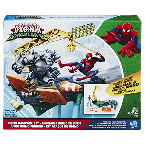 Zoom IMG-1 marvel spider man rhino rampage