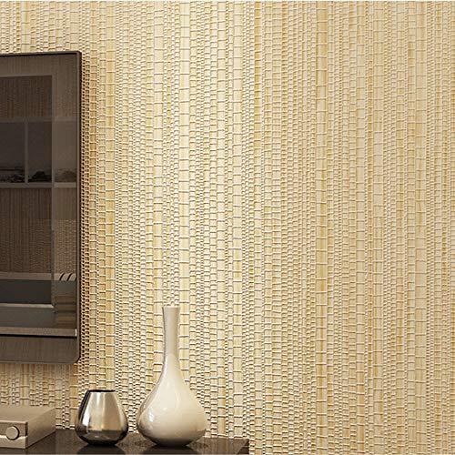 Tapete, Faux Gras strukturierte Tapeten, Wand-Papier für Wohnzimmer Schlafzimmer, wasserdicht selbstklebende Wand-Papier, Geeignet für Wohnzimmer Schlafzimmer TV Hintergrund Wand