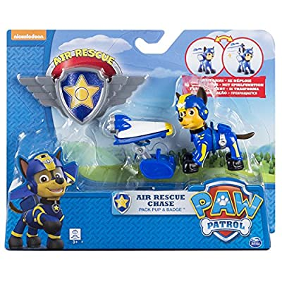 Paw Patrol, Air Rescue Chase, Pup Pack & Badge por Paw Patrol