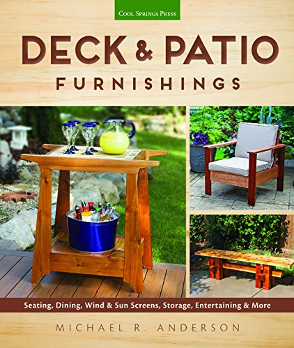Deck & Patio Furnishings: Seating, Dining, Wind & Sun Screens, Storage, Entertaining & More -