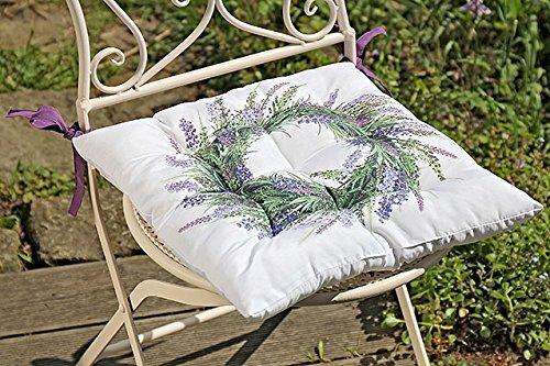 Boltze Sitzkissen Lavendel 40x40cm