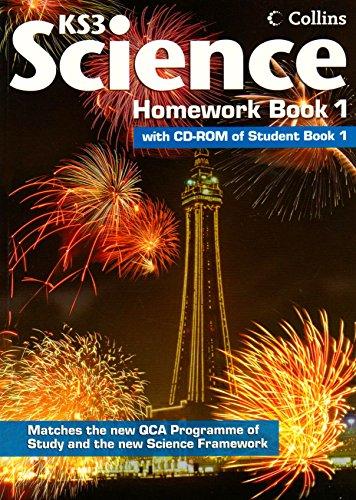 Collins KS3 Science - Homework Book 1: Homework Book Bk. 1 (Collins Key Stage 3 Science) by Patricia Miller (14-Nov-2008) Paperback