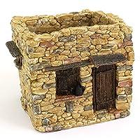 وعاء زهور وظيفي لبيت الحيوانات الناصرة، مقاس صغير 10.16 سم من توب كوليكشن