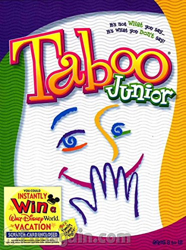 Taboo for Kids. Englischsprachige Version von Tabu junior.