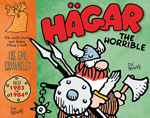 Hagar the Horrible: Dailies 1983-84 por Dik Browne
