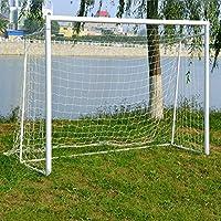 Fútbol Soccer Goal Nets, 3 Tamaño (6'x4 ', 12'x6', 24x8 ') Para Entrenamiento Deportivo (24'x8') por Melissa Wizard (24x8 ')