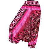 PANASIAM Aladin Pants, Design-style: Maoi 04, pink-ish